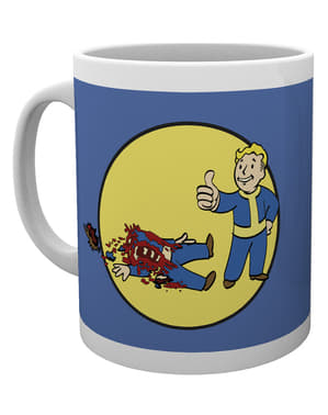Caneca de Fallout Bloody Mess