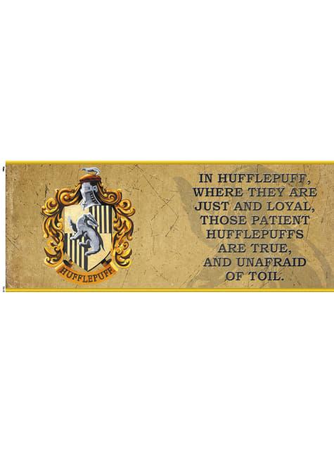 Taza de Harry Potter Hufflepuff Characteristics - oficial