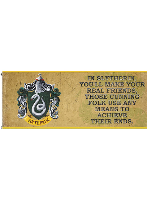 Taza de Harry Potter Slytherin Characteristics - oficial