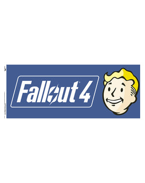 Mugg Fallout 4 logga
