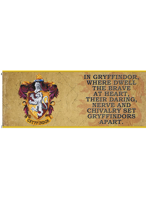 Taza de Harry Potter Gryffindor Characteristics - oficial