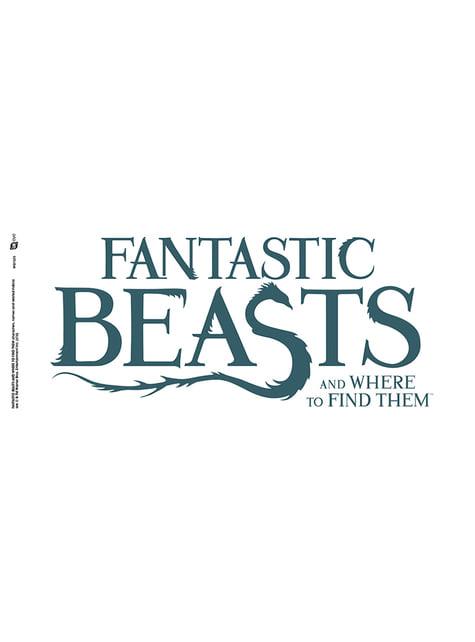 Caneca de Monstros Fantásticos e Onde Encontrá-los Logo