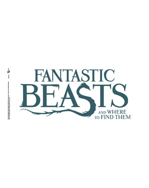 Fantastic Beasts and where to find them logo Mug