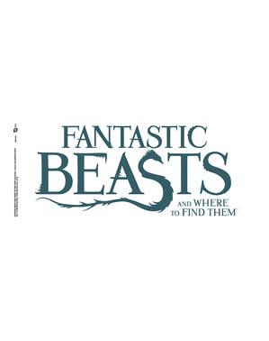 Hrnek Fantastická zvířata a kde je najít logo