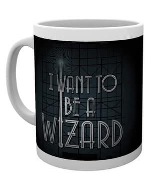 Tasse Phantastische Tierwesen und wo sie zu finden sind I want to be a Wizard