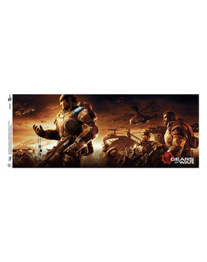 Caneca de Gears of War Key Art 2
