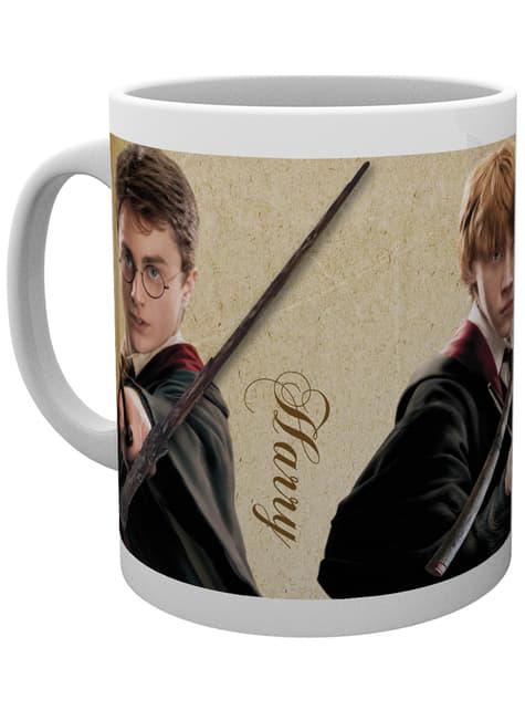 Taza de Harry Potter Wands