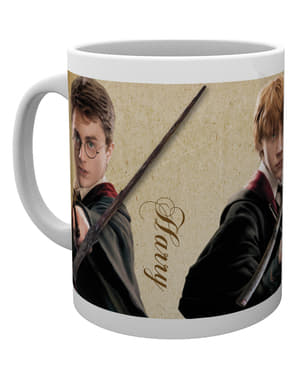 Caneca de Harry Potter Wands