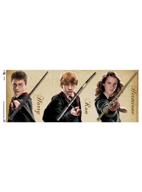 Taza de Harry Potter Wands - oficial