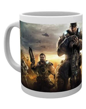 Gears війни Key Art 3 Гуртка