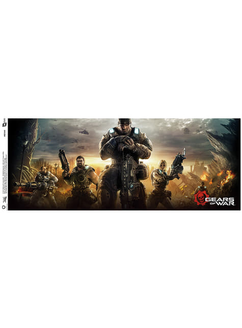 Taza de Gears of War Key Art 3 - oficial