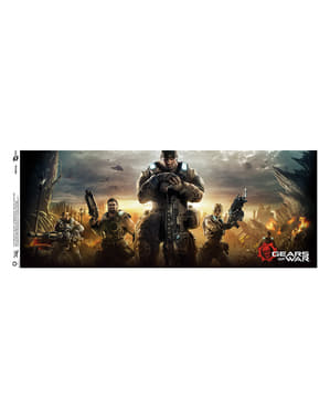 Caneca de Gears of War Key Art 3