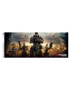 Gears of War מפתח אמנות 3 ספלים