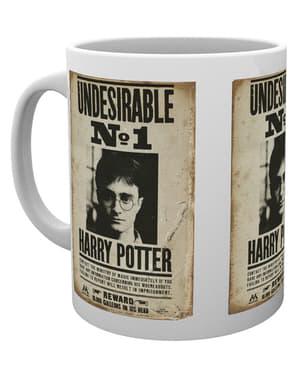 Caneca de Harry Potter Undesirable No 1