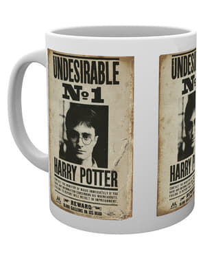 Taza de Harry Potter Undesirable No 1
