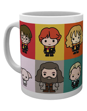 Taza de Harry Potter Chibi