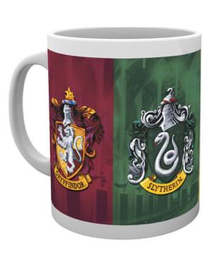 """Чаша с гербовете на домовете от """"Хари Потър"""""""