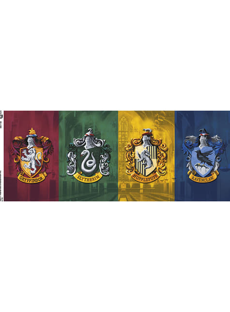 Taza de Harry Potter All Crests - oficial