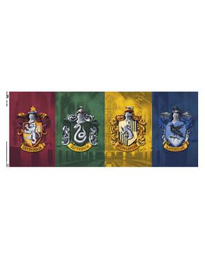 Šálka Harry Potter Všetky domy