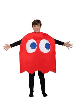 Maskeraddräkt Spöket Pac-Man Blinky för barn