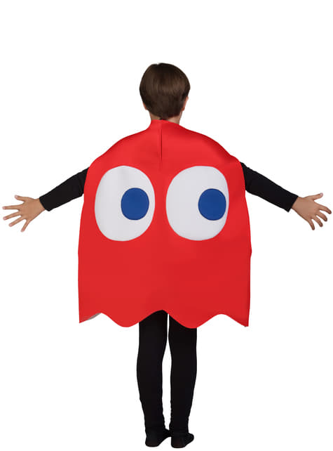 Disfraz de Fantasma Pac-Man Blinky Infantil - Halloween