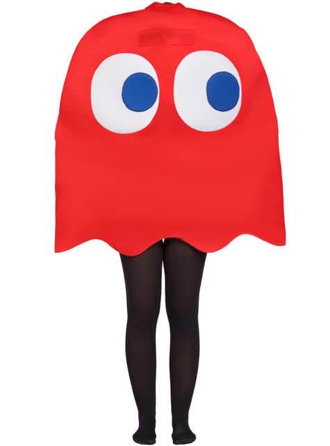 Fato de Fantasma Blinky Infantil - Pac-Man
