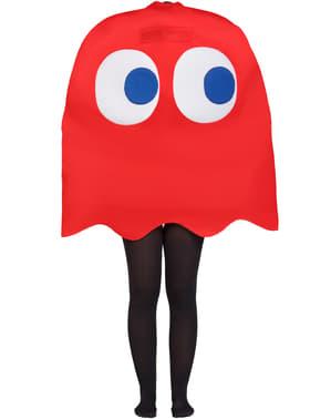 Fato de Fantasma Pac-Man Blinky para criança