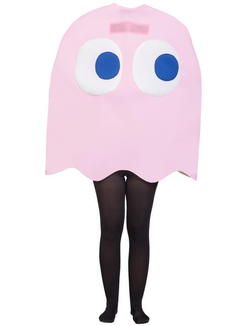 Fato de Fantasma Pinky Infantil - Pac-Man