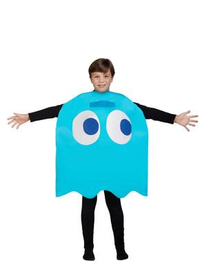 Inky spookje kostuum Pac-Man voor kinderen