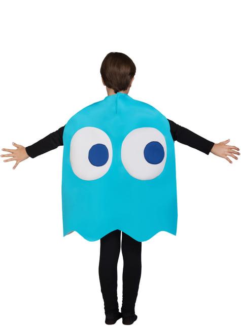 Fato de Fantasma Inky Infantil - Pac-Man