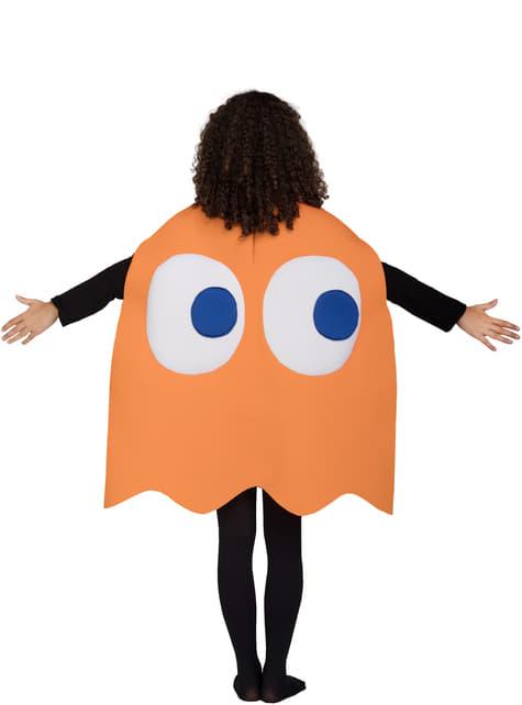 Fato de Fantasma Clyde Infantil - Pac-Man