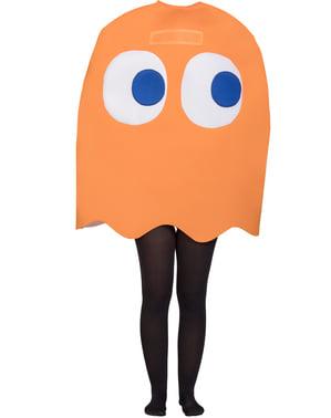 Maskeraddräkt Spöket Pac-Man Clyde för barn