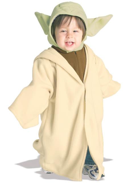 Costum Yoda din Star Wars pentru bebeluși