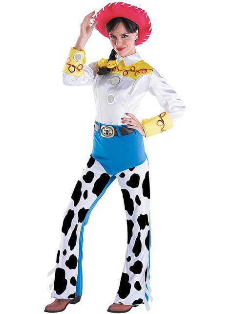Fato de Jessie Toy Story deluxe para adulto