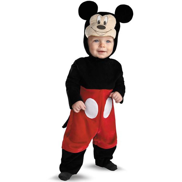 Disfraz De Mickey Mouse Deluxe Para Beb