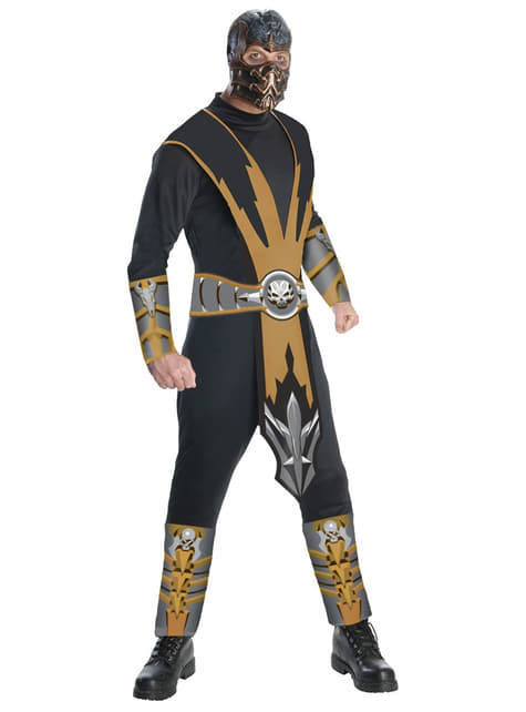 Scorpion Mortal Kombat Adult Costume