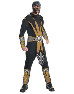Fato de Scorpion Mortal Kombat para adulto