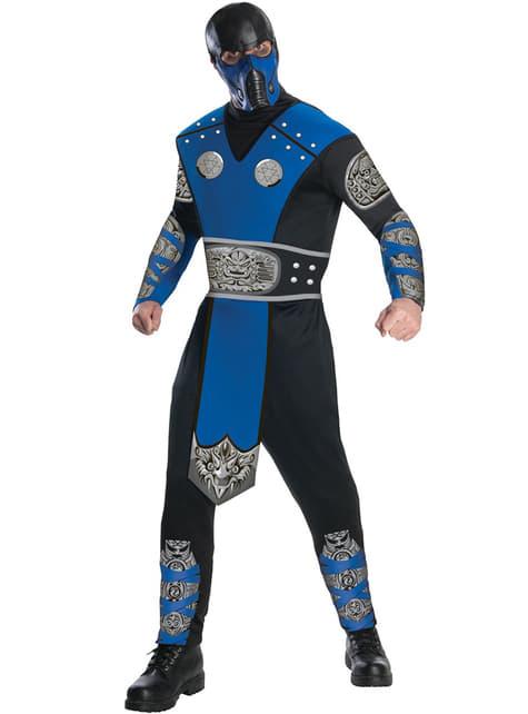 Sub-Zero Mortal Kombat Kostyme Voksen