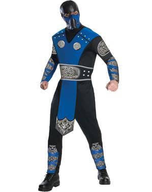 Fato de Sub-Zero Mortal Kombat para adulto