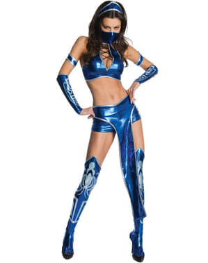 Costum Kitana Mortal Kombat pentru femeie
