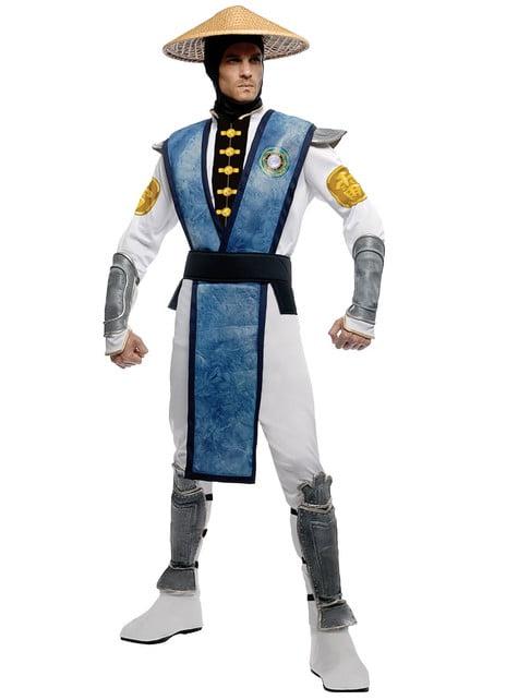 Raiden kostume til voksne Mortal Kombat