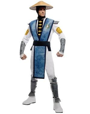 Raiden Mortal Kombat kostuum voor volwassenen