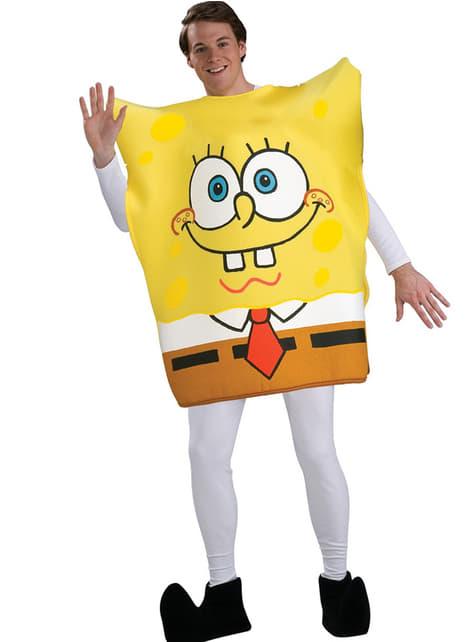 Strój Sponge Bob Classic dla dorosłych