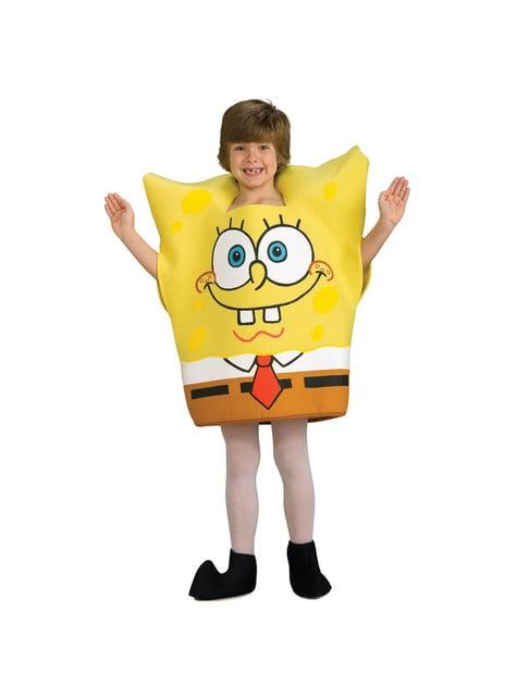 Spongebob kostuum voor kinderen