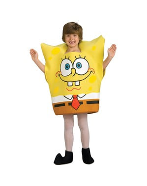 SvampeBob Firkant kostume til små børn