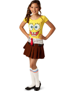 Spongebob Girl Kids Costume