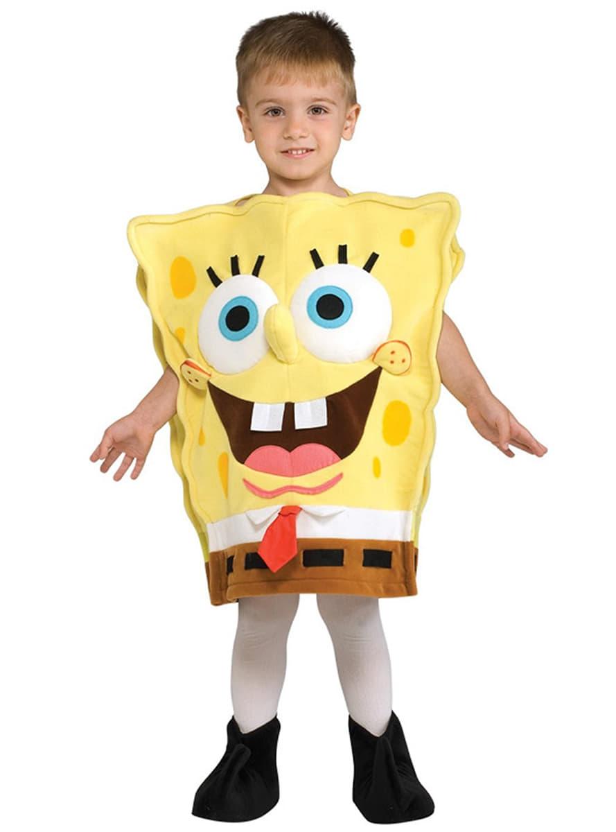 Costume de bob l 39 ponge haut de gamme pour enfant funidelia - Bob l eponge halloween ...