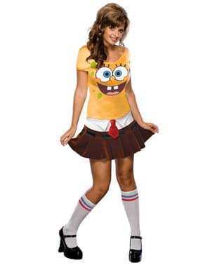 Dámský kostým sexy Spongebob