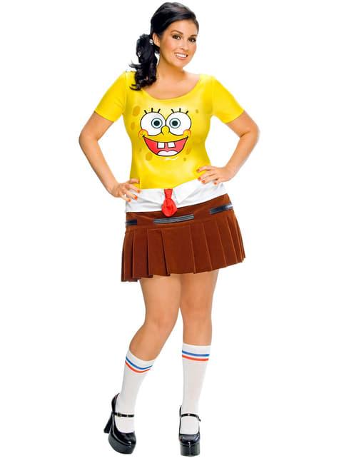 Сексуальна Spongebob дорослих костюм