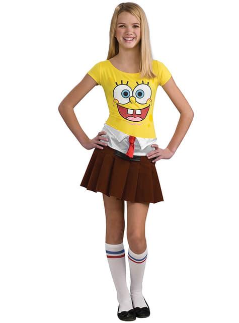 Detský kostým Spongebob Girl